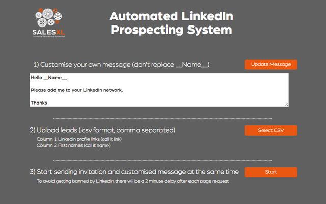 Sales XL: Automated LinkedIn Prospecting