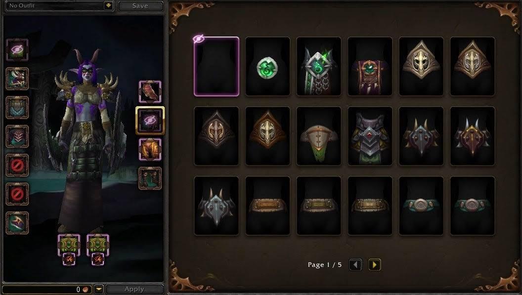 Пример из World Of Warcraft