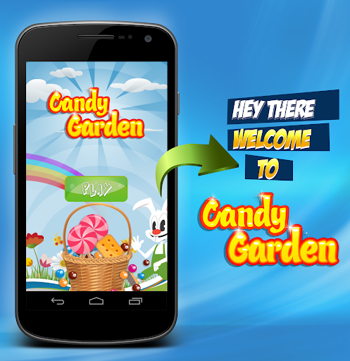 Candy Garden : Match 3 Game