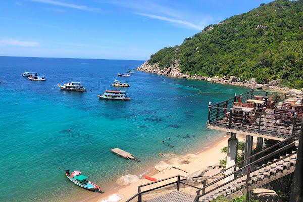 Make a stop at Mango Bay on Koh Tao