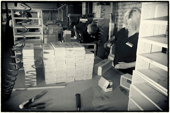 Photo: More wood shop ation with Carol