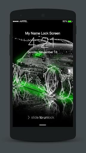 Neon Cars Lock Screen 3.0.2 screenshots 2