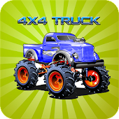 4x4 monster truck stunts