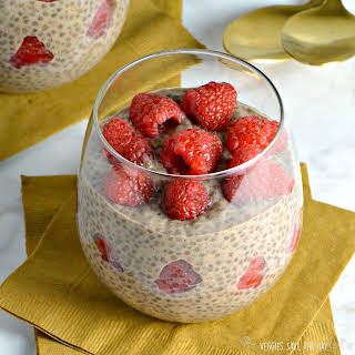 Chocolate Chia Pudding for Two.