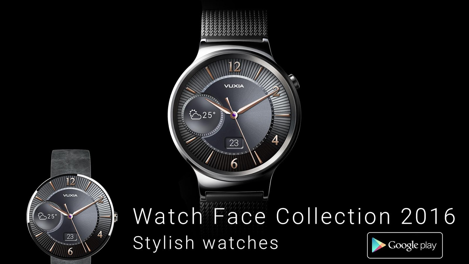 Wear face collection - Watch Face Collection 2016 Screenshot