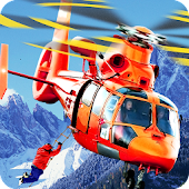 Helicopter Hill Rescue 2016 Android APK Download Free By Fun Blocky Games