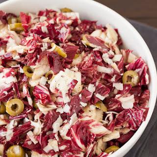 Spanish Radicchio Salad with Manchego.