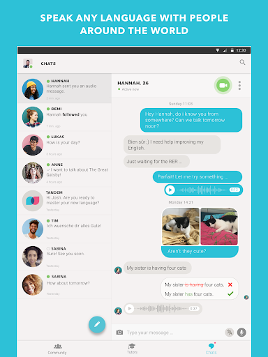 Tandem: Find Language Exchange Partners Worldwide 1.7.3 screenshots 6