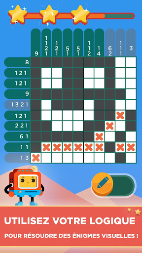 Quixel - Logic Puzzles fond d'écran 2