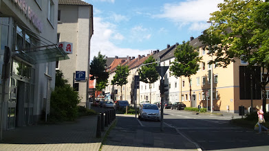 Photo: Die Buscheystraße vom Ärztehaus am Buschey aus gesehen.