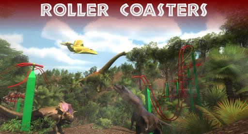 VR Jurassic - Dino Park & Roller Coaster Simulator 2.03 APK MOD screenshots 2