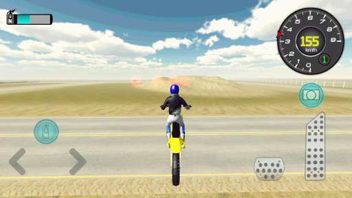 Drive Motocycle at Traffic 3D