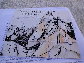 Photo: Motivační puzzle od Báry.