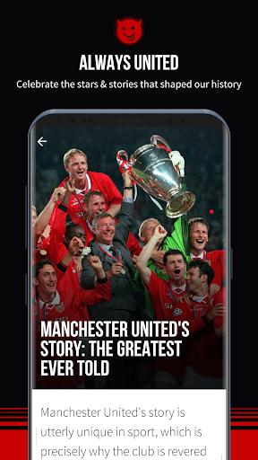 Manchester United Official App 6.2.4 screenshots 8