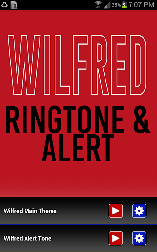 Wilfred Theme Ringtone Alert