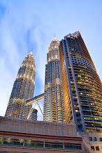 Photo: Petronas Towers at Twilight