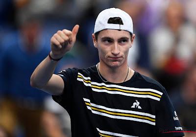 Ugo Humbert eerste finalist op ATP-toernooi in Antwerpen