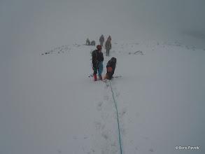 Photo: ujutro ipak odlučujemo krenuti iako je vrijeme loše