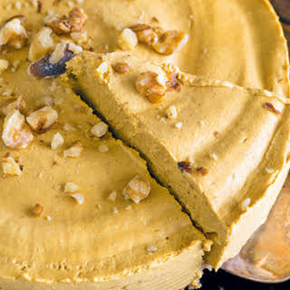 "Sweet Potato ""cheesecake""."