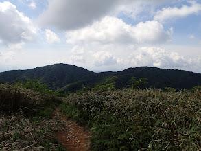 浄法寺山へ向かう