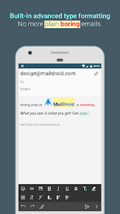 MailDroid - Free Email Application- screenshot thumbnail