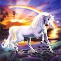 unicorns rainbow LiveWallpaper icon