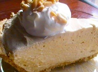 No-bake Peanut Butter Pie Recipe
