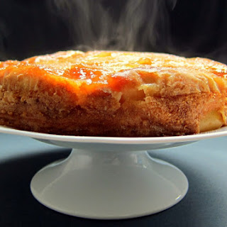 Pressure Cooked Apple and Ricotta Cake.