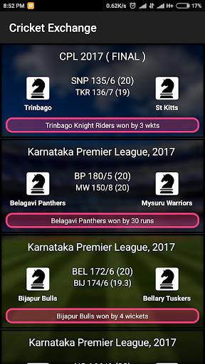 Cricket Exchange (Live Line) screenshot 6