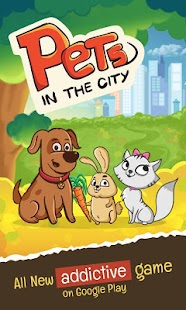 Pets in the city - Happy jump screenshot