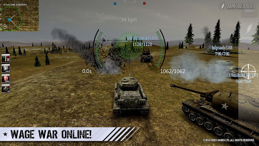 Armored Aces - Tanks in the World War 3.1.0 APK MOD screenshots 1