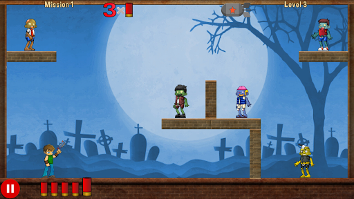 Shoot hungry zombie apklade screenshots 2