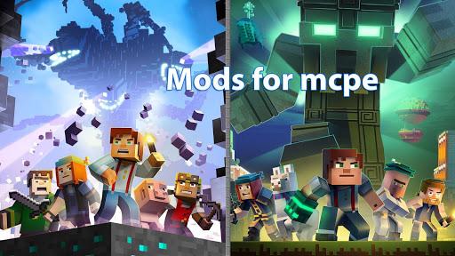 Mods for minecraft pe screenshot 1