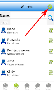 Cleaning Business Software Screenshot