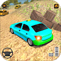 Village Taxi Game - Hill Climb Race icon