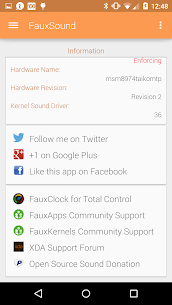 FauxSound Sound Control 1.5.6 MOD for Android 1