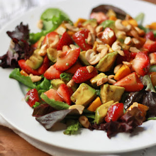 Summer Salad with Balsamic-Lime Dressing