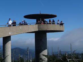 Photo: Top of Clingman Dome