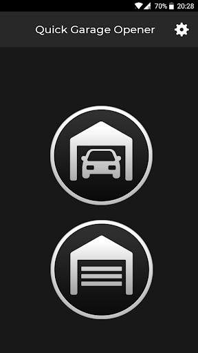 Quick Garage Opener - Predefined SMS 이미지[1]