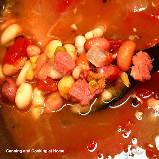 15 Bean & Ham Soup *pressure canned