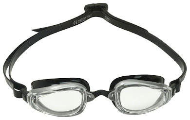 Michael Phelps K180 Goggles - Silver/Black with Clear Lens alternate image 1
