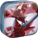 Red Flowers of Love Live WP icon