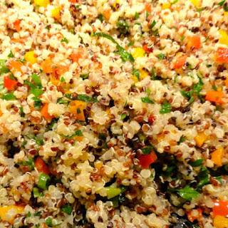 Quinoa Pilaf.