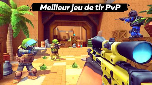 Code Triche KUBOOM 3D: FPS Shooter APK MOD (Astuce) screenshots 1