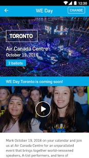 WE Day- screenshot thumbnail