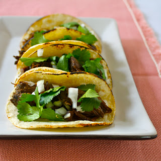 Spicy Slow Cooker Short Rib Tacos.