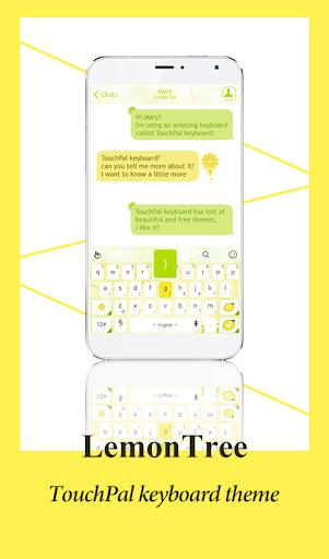 TouchPal Lemon Tree Theme