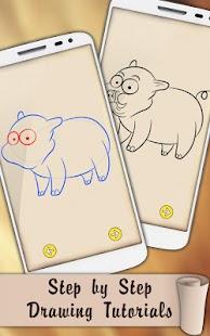 Draw Farm Rancho Animals - náhled
