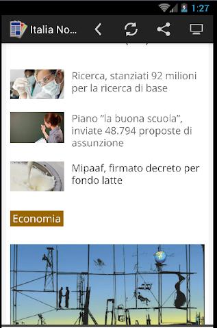 android Quotidiani Italiani Screenshot 3