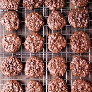 Flourless Chocolate Walnut Cookies.